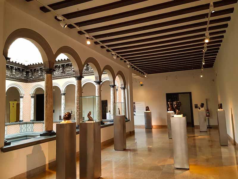 Esculturas de bustos del Museo de Pablo Gargallo