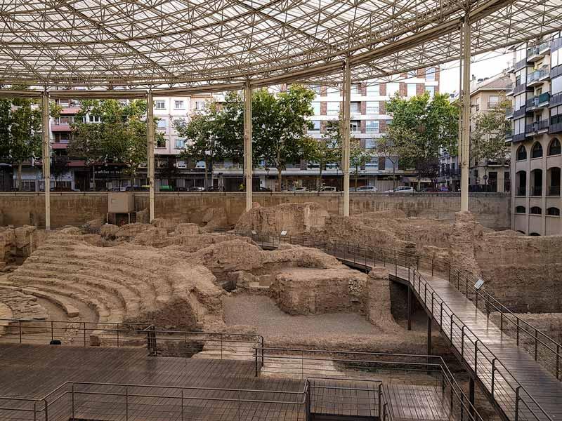 Museo del Teatro Romano de Caesaraugusta en Zaragoza