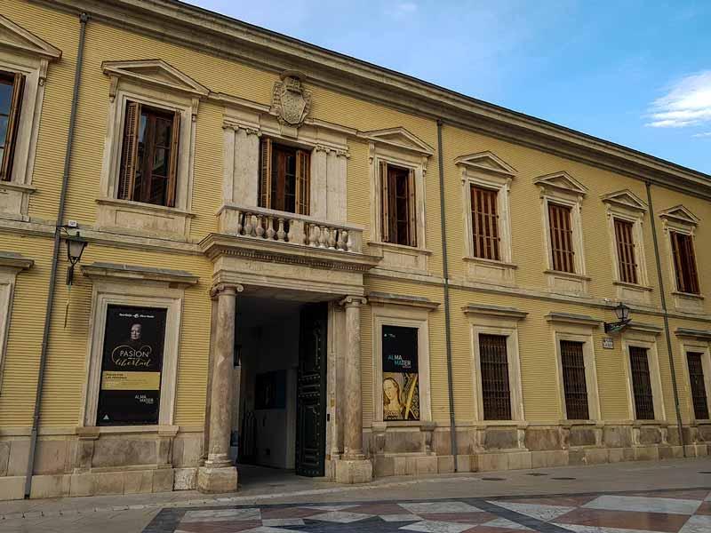 Fachada del Alma Mater Museum - Zaragoza