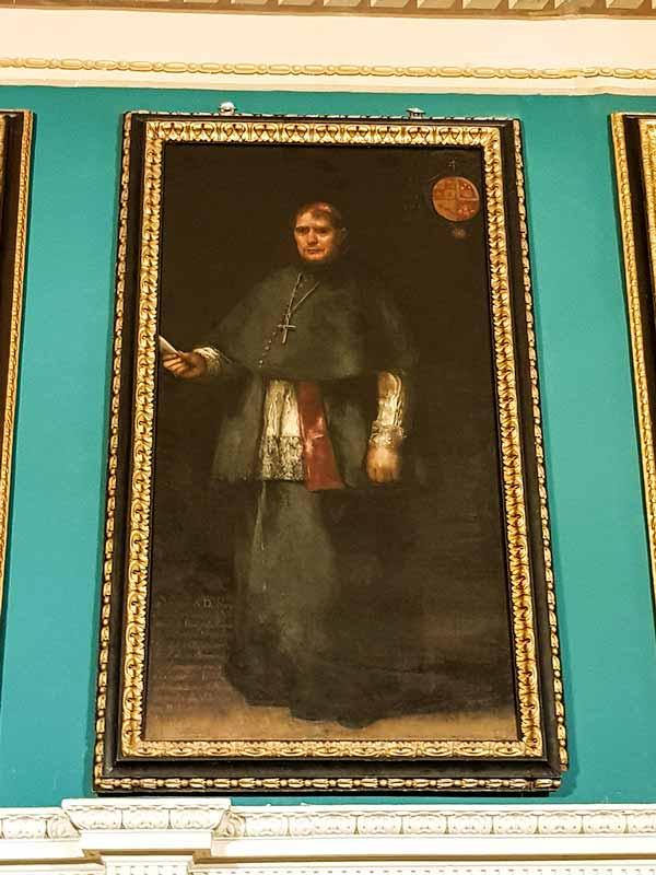 Sala 15: Obispo Joaquín Company. Realizado por Goya - Alma Mater Museum - Zaragoza