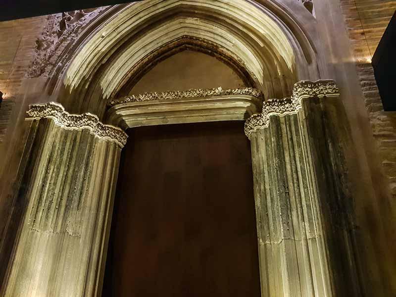 Sala 5: Pórtico gótico - Alma Mater Museum - Zaragoza
