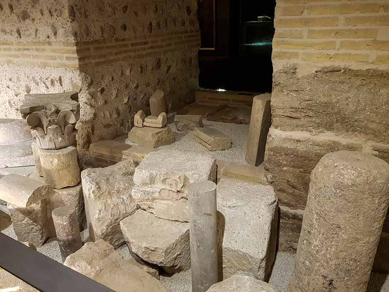 Restos romanos del Alma Mater Museum - Zaragoza