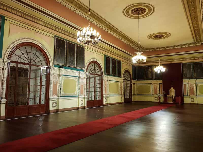 Sala 15: Salón del Trono o de Juan Pablo II - Alma Mater Museum - Zaragoza