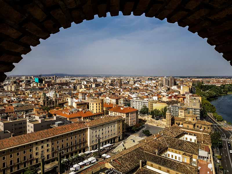 Vistas de la plaza desde la torre