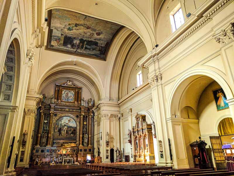 Altar de la Basílica de Santa Engracia de Zaragoza