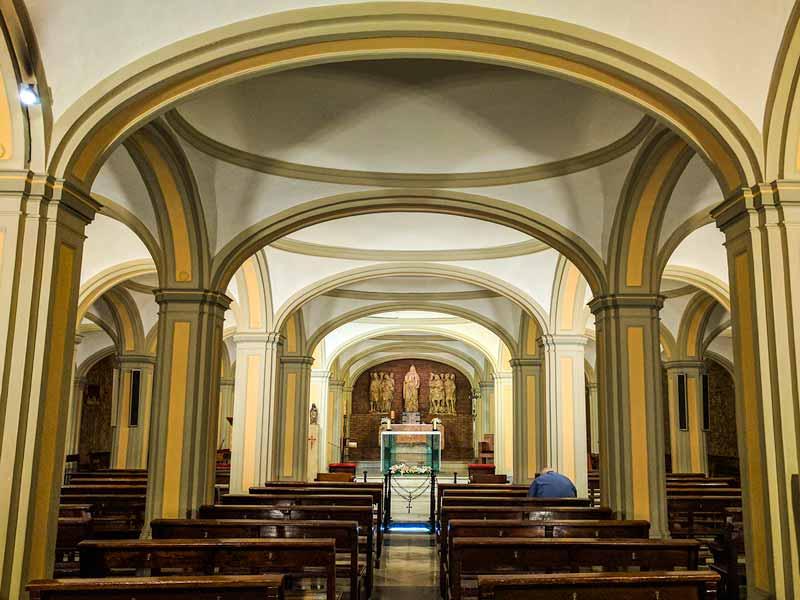 Cripta de la Basílica de Santa Engracia de Zaragoza