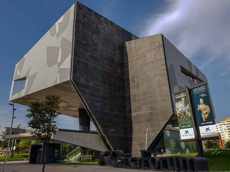 Salas de Exposiciones de Zaragoza: Caixaforum