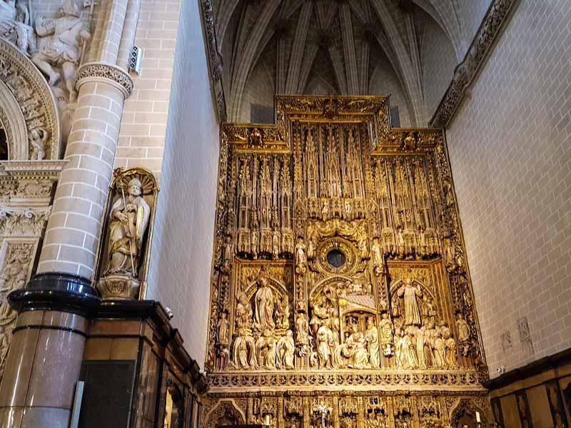Retablo Mayor de la Catedral de la Seo - Zaragoza