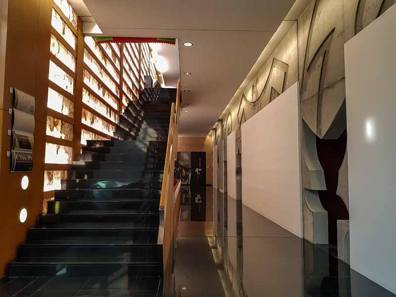 Primera planta del Centro de Historias de Zaragoza