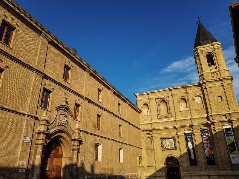 Antiguo Convento de San Agustín, Centro de Historias de Zaragoza.