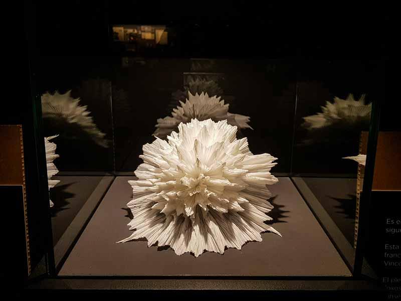Erizo de mar - Museo del Origami - Zaragoza