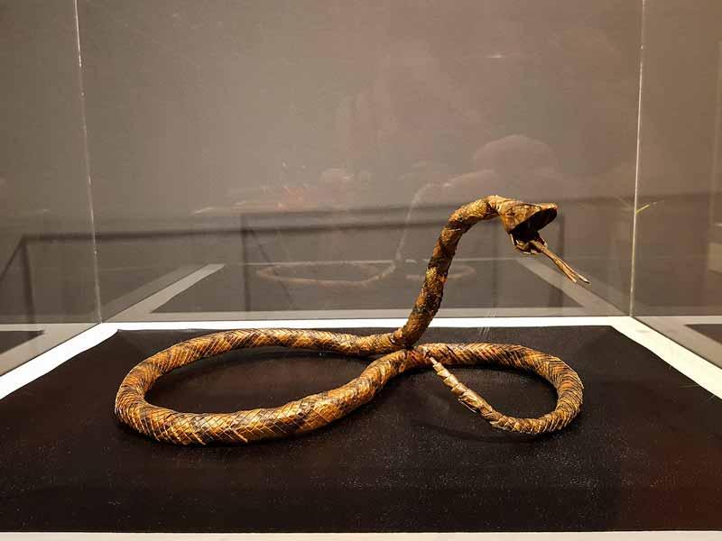 Serpiente de papel - Museo del Origami - Zaragoza