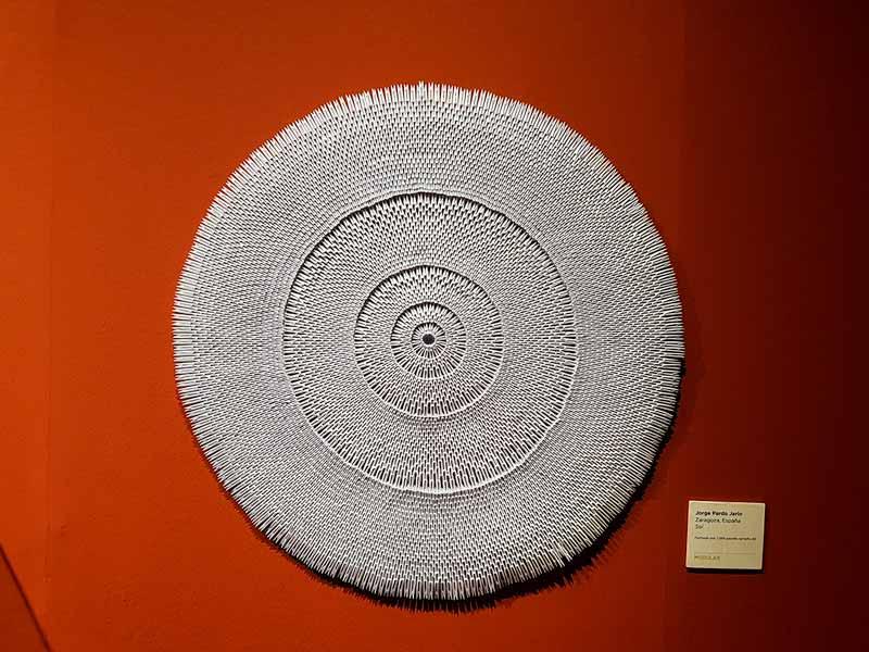 Sol de papel. Exposición temporal del Museo del Origami - Zaragoza