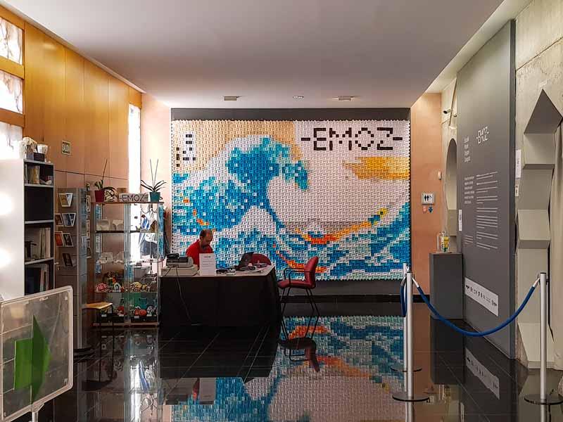 Taquilla y tienda del museo del origami - Zaragoza