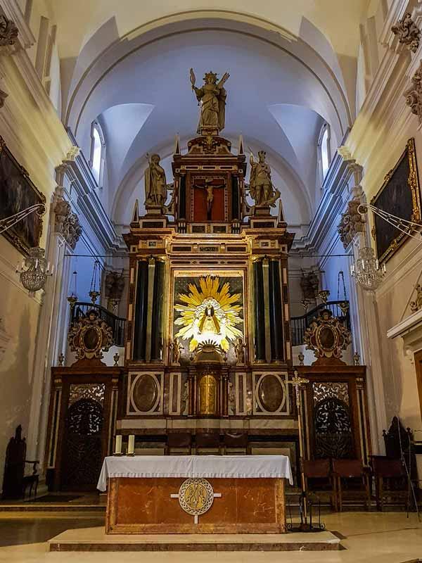 Retablo de la iglesia de nuestra señora del Portillo de Zaragoza