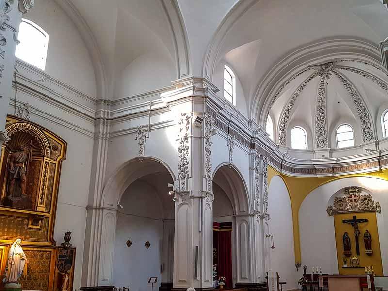 Interior de San Juan de los Panetes