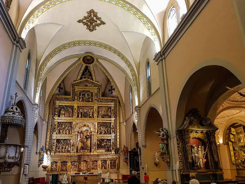 Retablo de la iglesia de San Miguel de los Navarros de Zaragoza