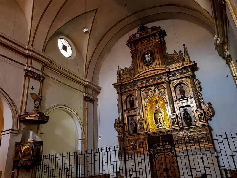 Retablo de la iglesia de San Nicolás de Bari Zaragoza