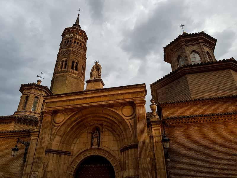 Puerta de San Pablo de la Iglesia de San Pablo de Zaragoza
