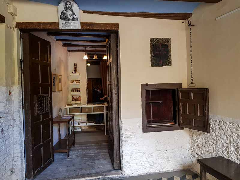 Portería del Monasterio de la Resurrección - Zaragoza