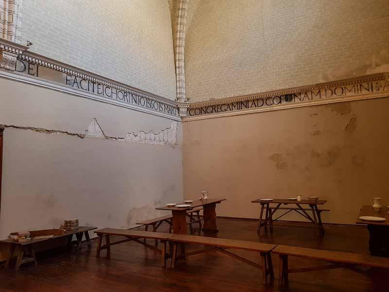 Refectorio del Monasterio de la Resurrección - Zaragoza