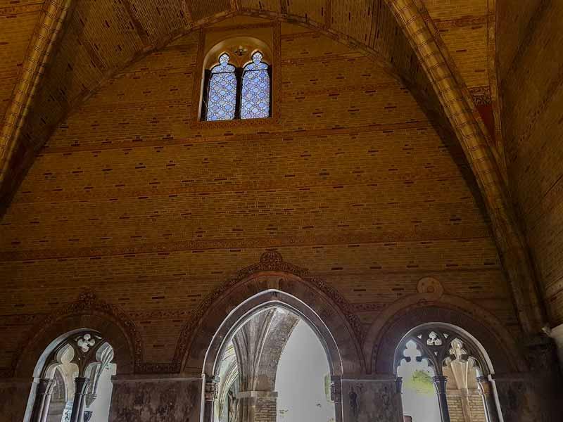 Interior de la sala capitular del Monasterio de la resurrección - Zaragoza