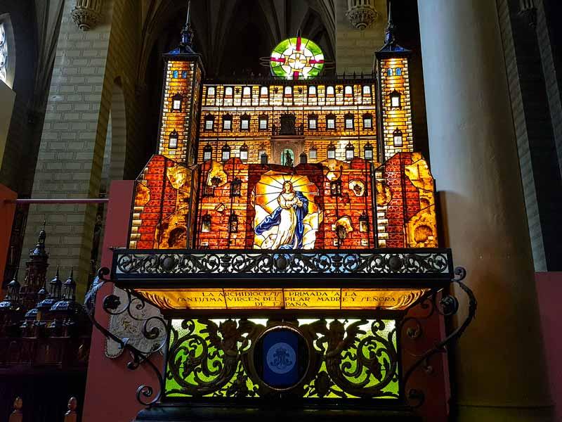 Carroza el Alcázar de Toledo del Museo de los Faroles y Rosario de Cristal