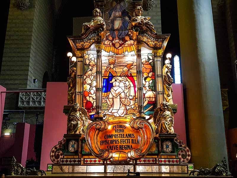 Museo de los Faroles y el Rosario de Cristal en Zaragoza