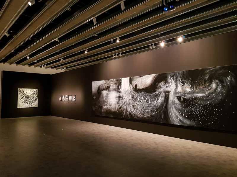 Planta 3: Sala de exposiciones temporal - Museo Pablo Serrano - Zaragoza