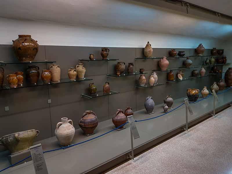 Segunda planta: Alfarería común - Museo de Zaragoza