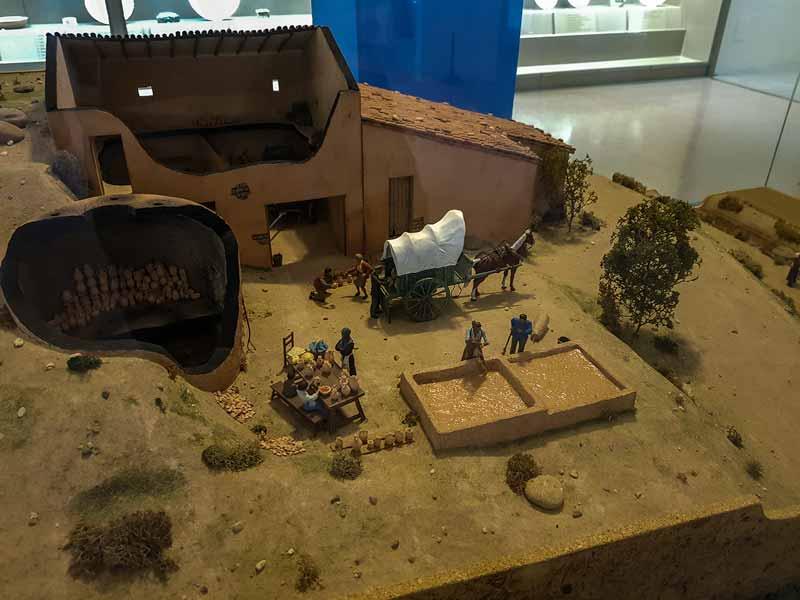 Maqueta de un taller alfarero - Museo de Zaragoza