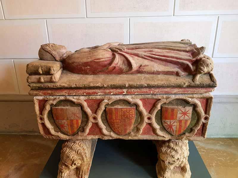 Sepulcro funerario. Museo de Zaragoza