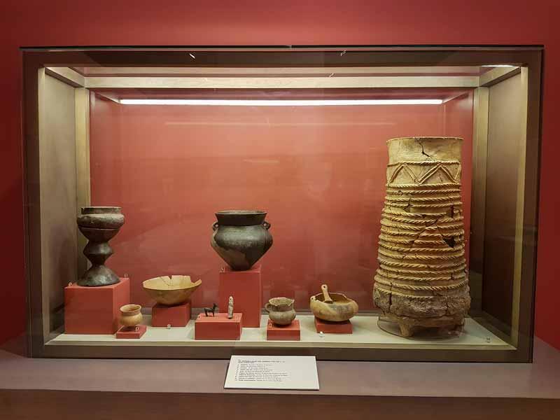Objetos de la Primera Edad de Hierro (750-350 a.C.). Museo de Zaragoza