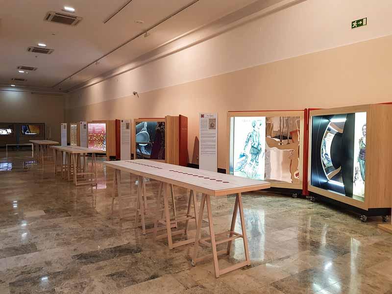 Sala de exposiciones del Museo de Zaragoza