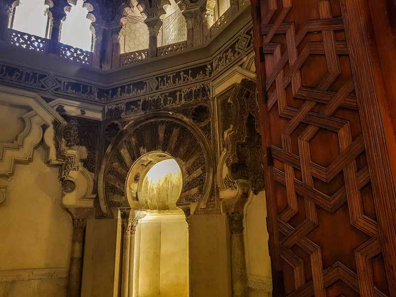 Mihrab de la Aljafería