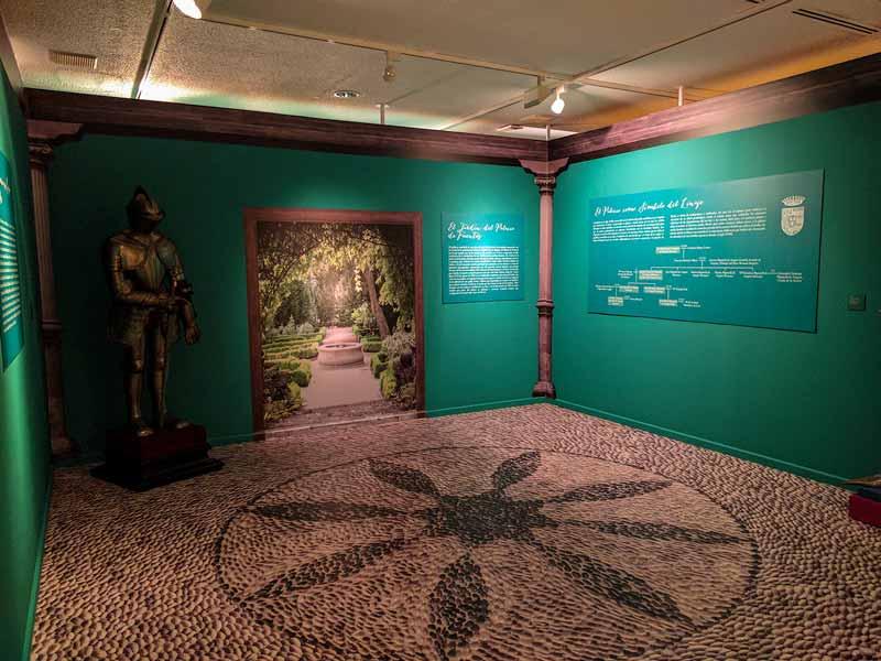 Sala de exposiciones temporales del Patio de la Infanta - Zaragoza