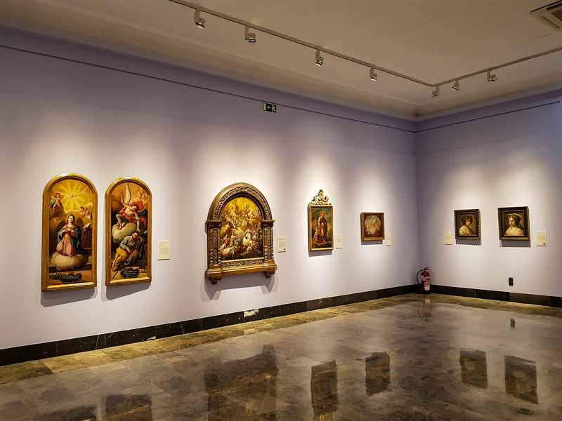 Sala de pinturas de Goya. Museo de Zaragoza