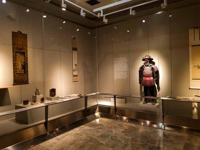 Samurái. Museo de Zaragoza