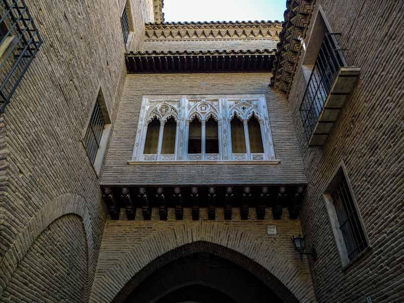 Monumentos de Zaragoza: Arco del Deán