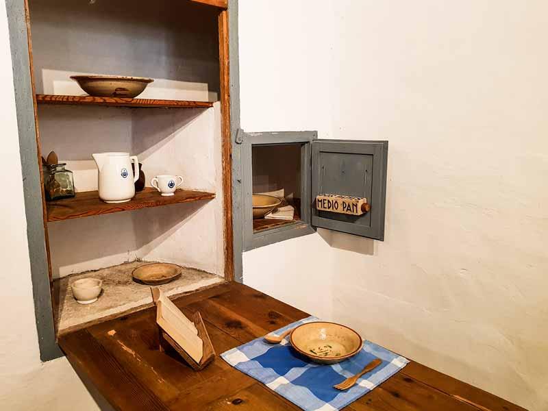 Comedor del eremitorio de la Cartuja del Aula Dei - Zaragoza
