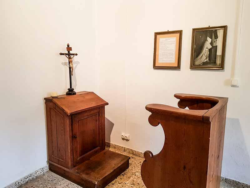 Oratorio del eremitorio de la Cartuja del Aula Dei - Zaragoza