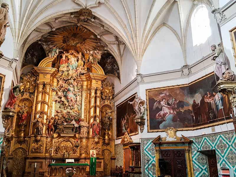 Retablo mayor de la iglesia de la Cartuja Aula Dei - Zaragoza