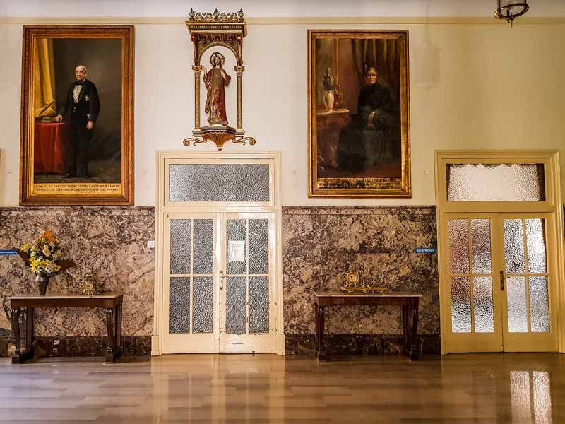 Hall de la Casa de Amparo