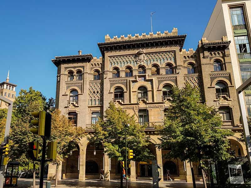 Edificio de Correos y Telégrafos de Zaragoza