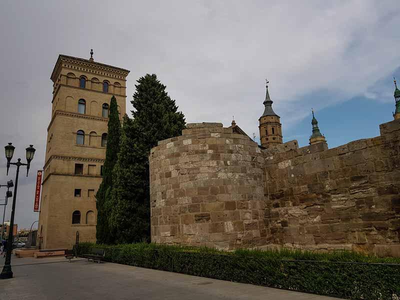 Torreón de la Zuda y murallas de Caesaraugusta, Zaragoza