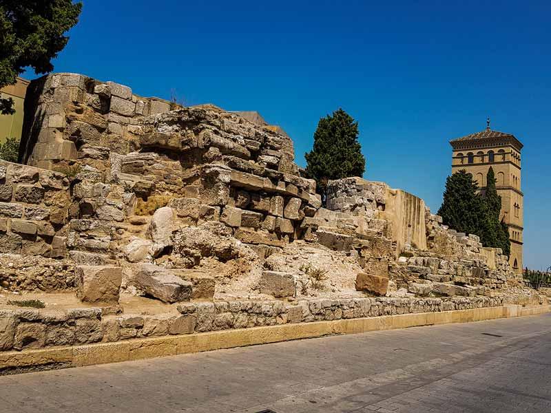 Monumentos de Zaragoza: Murallas Romanas
