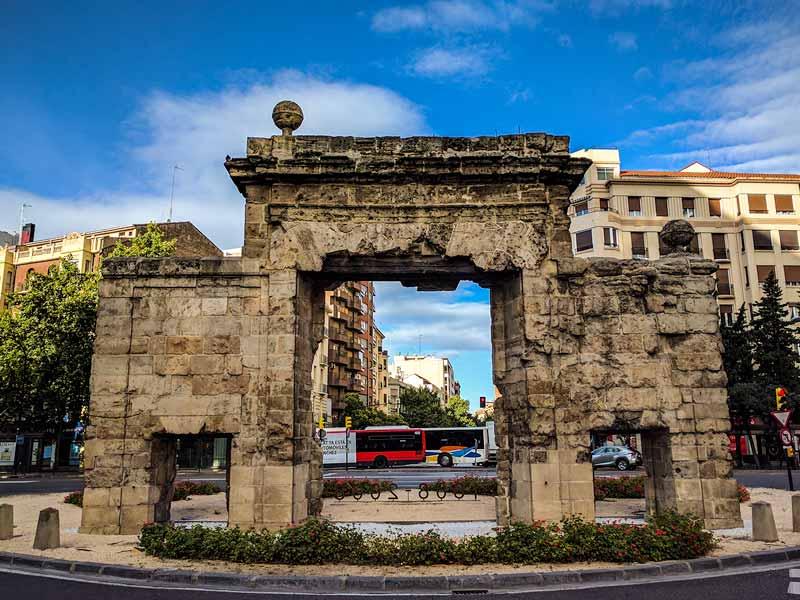 Parte trasera de la Puerta del Carmen