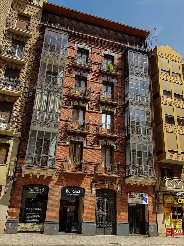 Edificio Coso 97 de Zaragoza