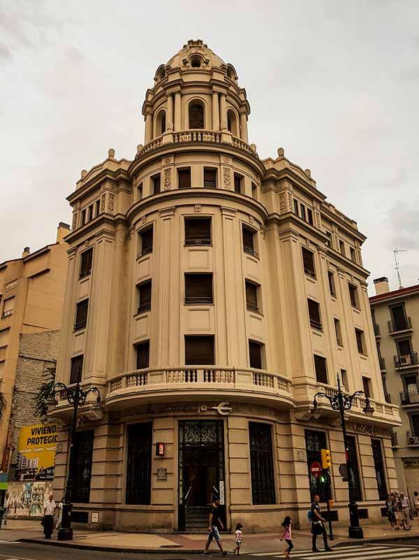 Edificio de Conde de Aranda 101 de Zaragoza