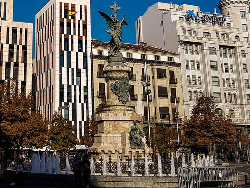 Monumento a los Mártires de la Religión y de la Patria de Zaragoza